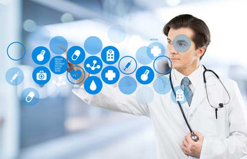 High tech medical answering service for hospitals